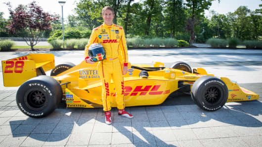 Ryan Hunter-Reay, Indy 500 champion.