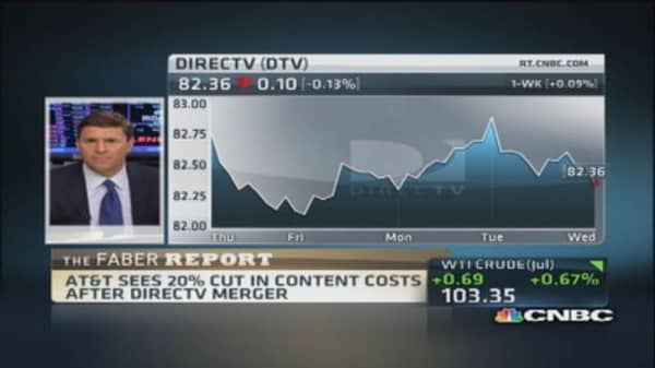 Faber Report: Close look at AT&T-DirecTV potential deal
