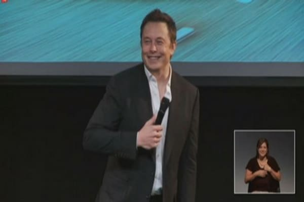 Musk on Model E: 'Ford's killing S-E-X'
