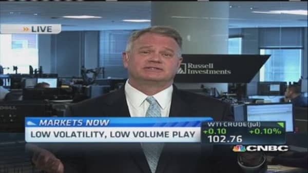 Finding opportunities in low volatility