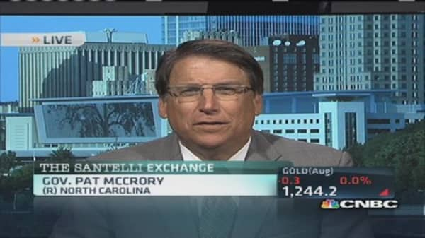 Santelli Exchange: NC legalizes fracking