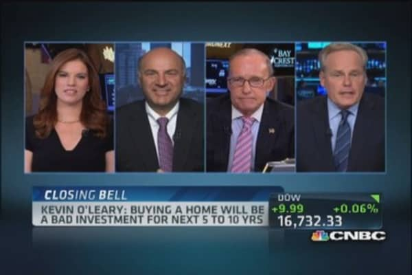 'Vampire' O'Leary's bearish housing call
