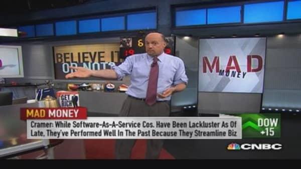 Profits drive stock prices, not hiring: Cramer