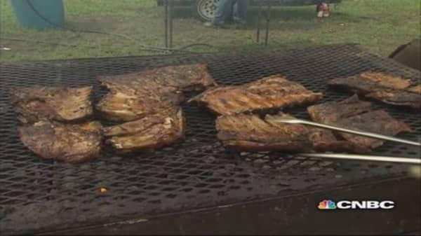 Secret to grilling perfect pork