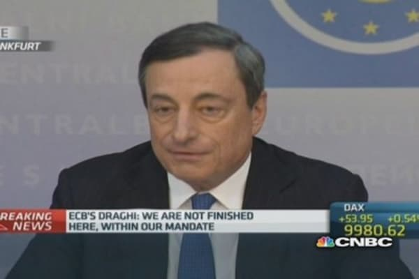 We must improve Europe: Draghi