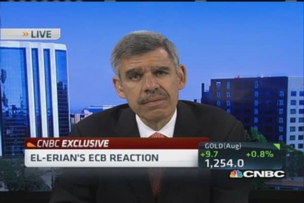 El-Erian's ECB reaction