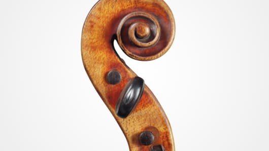 Detail of Kreutzer Stradivari