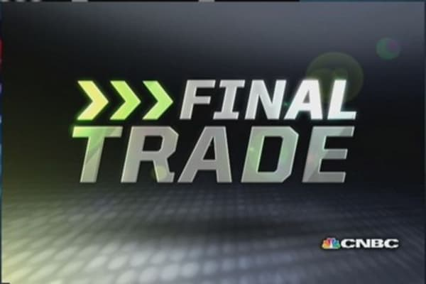 Fast Money Final Trade: CSX, FCX, SPY, TWTR
