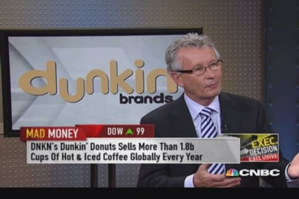 Dunkin' Donuts CEO: Enthusiastic about expansion