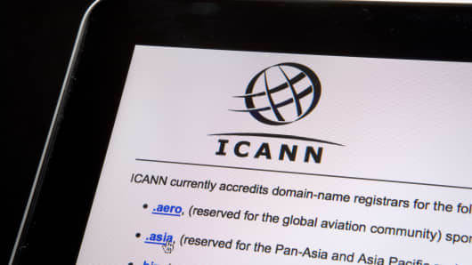 Top-level domains are listed on the Internet Corporation for Assigned Names and Numbers (Icann) website.