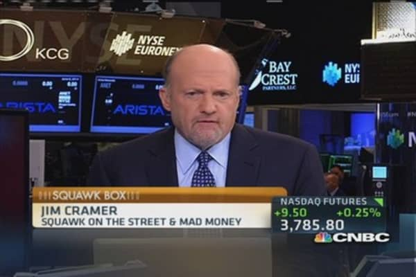 Cramer: It's a good jobs number