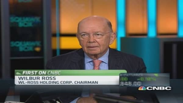 Wilbur Ross on ECB rate cut