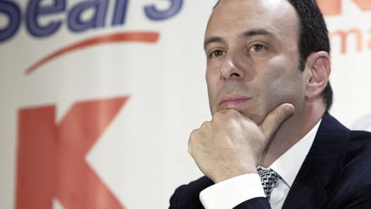 Sears CEO Edward Lampert.