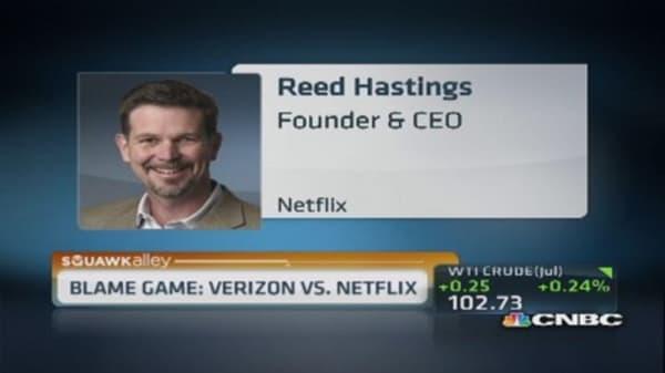 Buffering blame: Netflix vs. Verizon