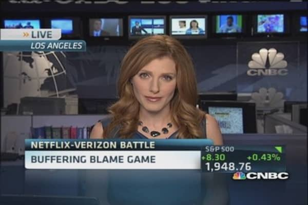 Netflix-Verizon blame game