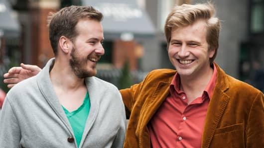 Taavet Hinrikus and Kristo Käärmann, founders of TransferWise