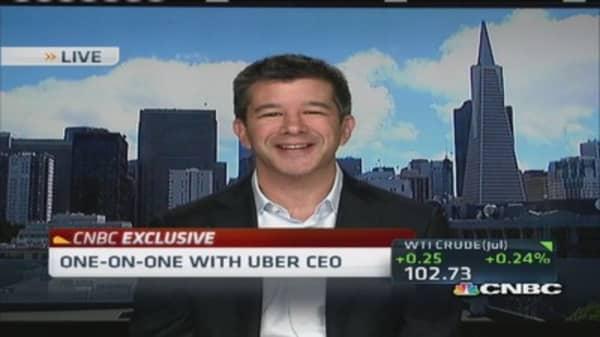Tight-lipped Uber CEO: Company 'private for a reason'