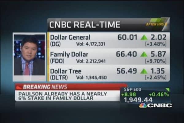 Carl Icahn's Family Dollar buy-in