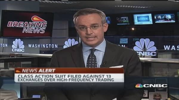 13 Exchanges hit with HFT lawsuit: Report