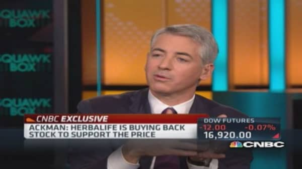 Ackman: Herbalife knows exactly what distributors doing