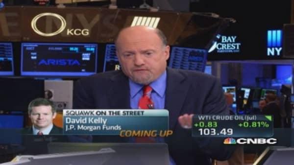Cramer's stocks to watch: Merck buys Idenix
