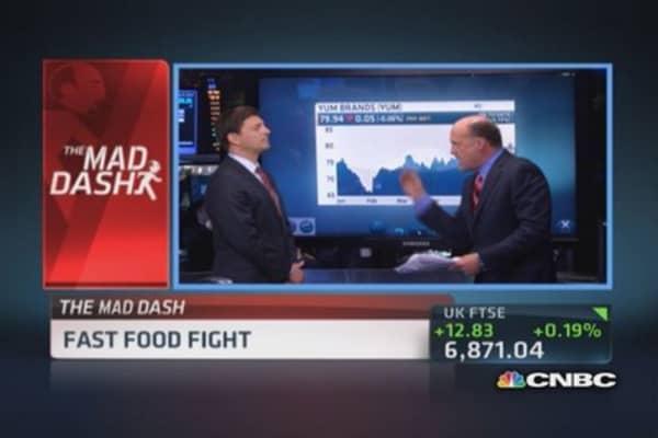 Cramer's Mad Dash: McDonald's