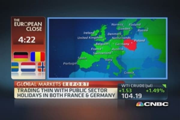 European markets close: ECB ramifications