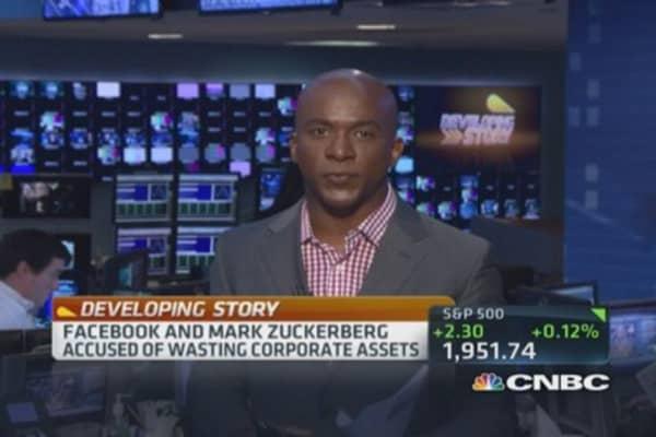 Facebook gets sued