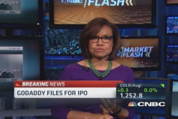 GoDaddy files for IPO