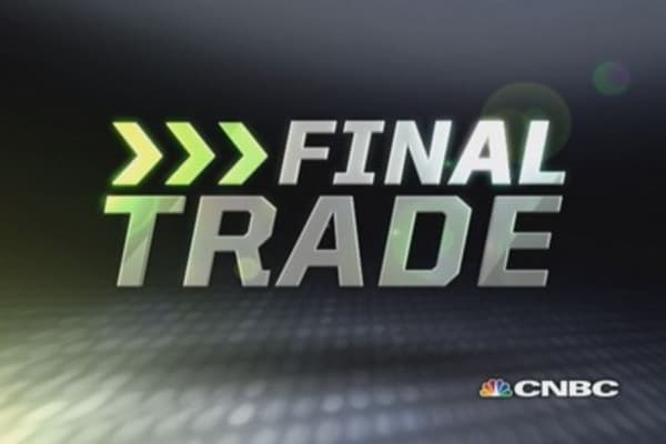Fast Money Final Trade: TBT, CSX, KBH, ANF