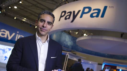 David Marcus, president of PayPal Inc.