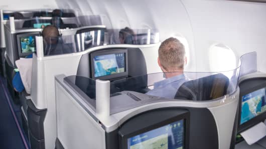 JetBlue launches Mint, a new business class cabin on transcontinental flights.