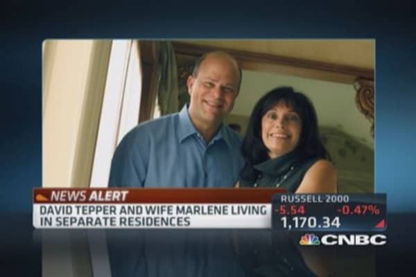 Investor Tepper considers divorce: Report