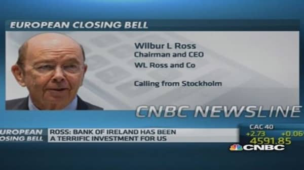 Wilbur Ross's 'reluctant' Bank of Ireland sale