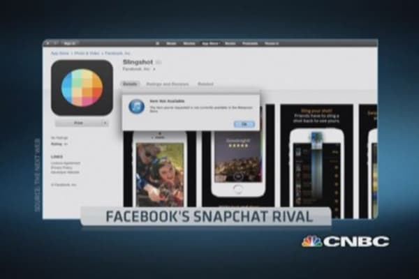 Facebook's Snapchat rival revealed -- on purpose?