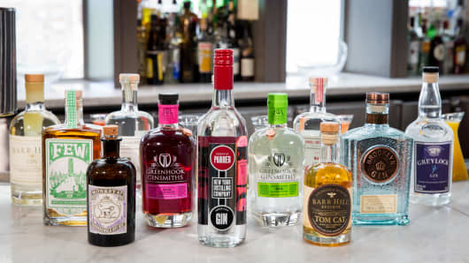 Gin is on a comeback.