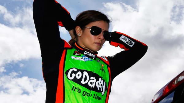 Danica Patrick, driver of the #10 GoDaddy Chevrolet