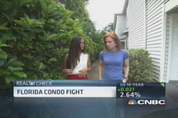 Florida condo owners fight for homes