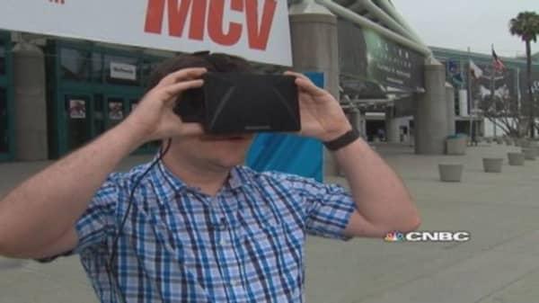 Virtual reality gamers: Facebook Oculus vs. Sony Morpheus