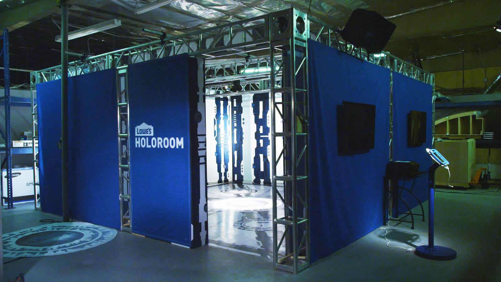 Lowe\'s 3-D tech makes remodeling a (virtual) reality
