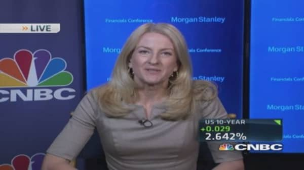 Morgan Stanley CEO: Job cuts in currency division