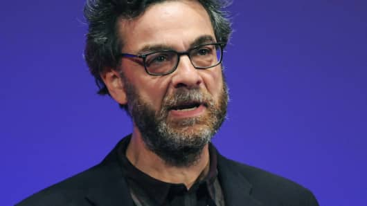 Stephen Dubner speaks at the World Business Forum in New York last year.
