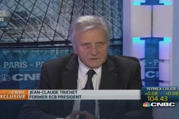 Jean-Claude Trichet on BNP Paribas fine