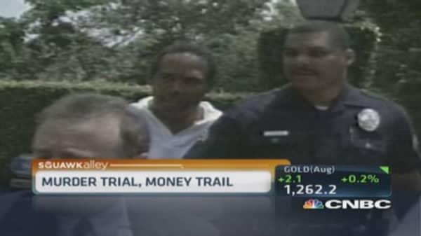 O.J. Simpson murder money