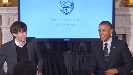 President Barack Obama speaks during a Q&A session at the White House on June 10, 2014 in Washington, D.C.