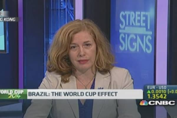 Can Brazil's economy kick off with the World Cup?