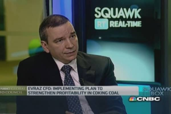 Evraz to benefit from US rail projects: CFO