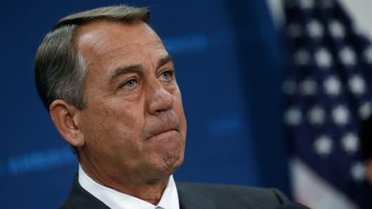 Speaker of the House John Boehner (R-OH).