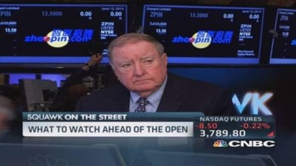 Cashin says market watching Iraq violence
