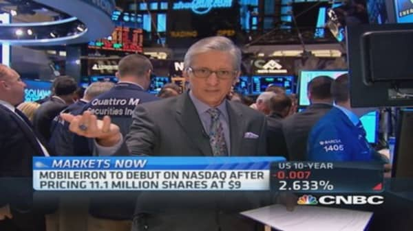 Pisani tests GoPro on NYSE floor